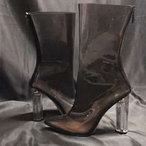 Shoes - Clear boots